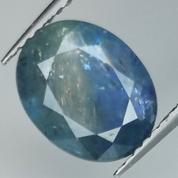 3.69ct Blue Sapphire silk...