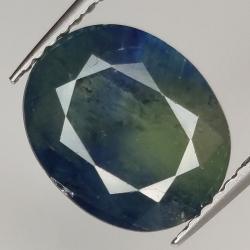 5.20ct Blue Sapphire oval...
