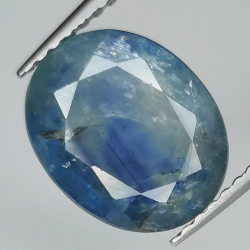 4.27ct Blue Sapphire oval...