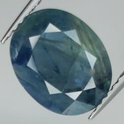 3.95ct Blue Sapphire oval...