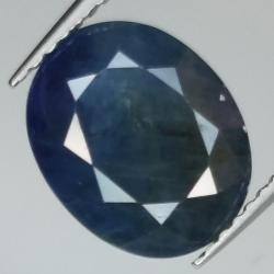 4.56ct Blue Sapphire oval...