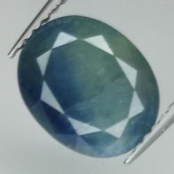 4.10ct Blue Sapphire oval...