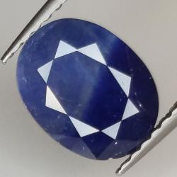 1.96ct Blue Sapphire oval...