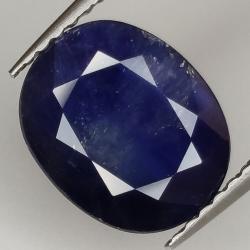 3.58ct Blue Sapphire oval...