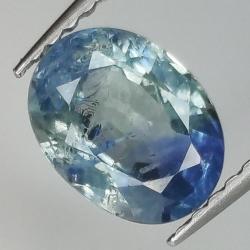 1.56ct Blue Sapphire oval...