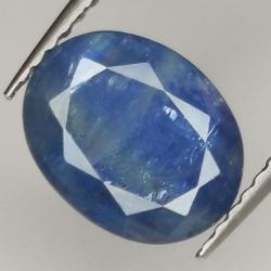 2.77ct Blue Sapphire oval...