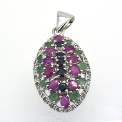 Sapphire, Ruby, Emerald &...