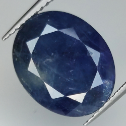 8.58ct Blue Sapphire oval...