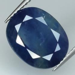 5.46ct Blue Sapphire oval...
