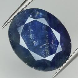 8.42ct Blue Sapphire oval...