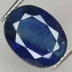 4.74ct Blue Sapphire oval...