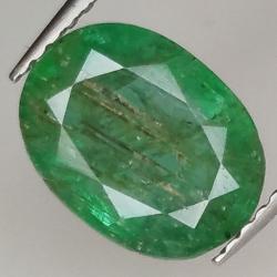 2.43ct Emerald oval cut...