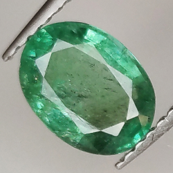 1.20ct Emerald oval cut...