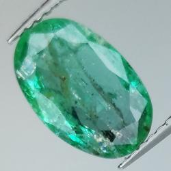 2.34ct Emerald oval cut...