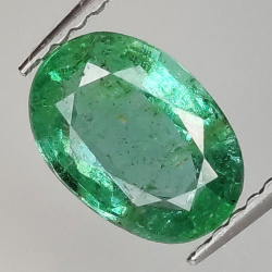 1.28ct Emerald oval cut...