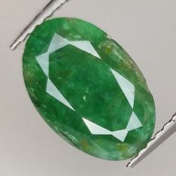2.07ct Emerald oval cut...