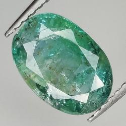 1.92ct Emerald oval cut...