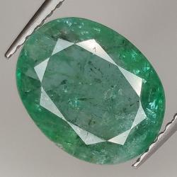 2.62ct Emerald oval cut...