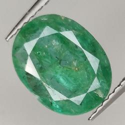 2.42ct Emerald oval cut...