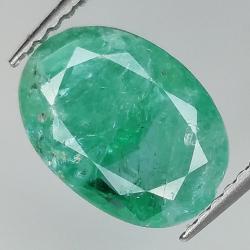 2.93ct Emerald oval cut...