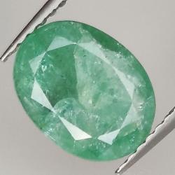 2.75ct Emerald oval cut...