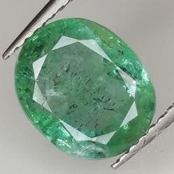 2.63ct Emerald oval cut...