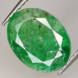 2.08ct Emerald oval cut...