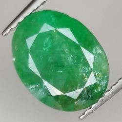 2.84ct Emerald oval cut...