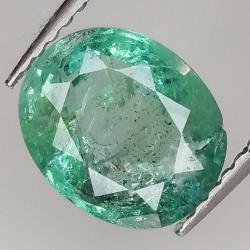 1.94ct Emerald oval cut...