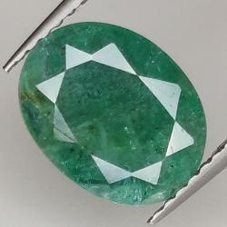 2.38ct Emerald oval cut...