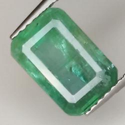 2.33ct Emerald emerald cut...