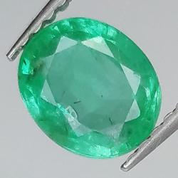 1.18ct Emerald oval cut...