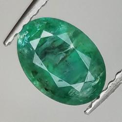 0.98ct Emerald oval cut...
