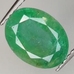 2.24ct Emerald oval cut...