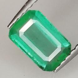 0.64ct Emerald emerald cut...