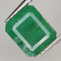 2.45ct Emerald emerald cut...