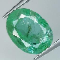 1.81ct Emerald oval cut...