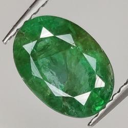 1.64ct Emerald oval cut...