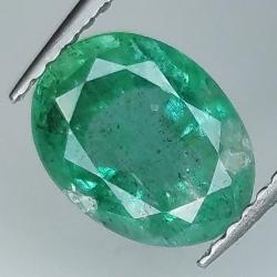 2.12ct Emerald oval cut...
