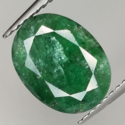 2.78ct Emerald oval cut...