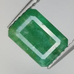1.76ct Emerald emerald cut...