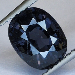 2.41ct Blue Spinel cushion...