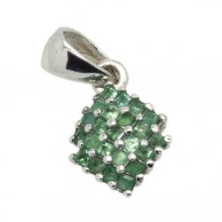 Emerald & 925 Sterling...