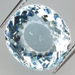 6.62ct Aquamarine oval cut...