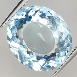 4.77ct Aquamarine oval cut...