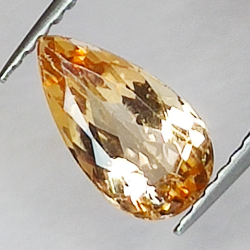 1.29ct Imperial Topaz pear...