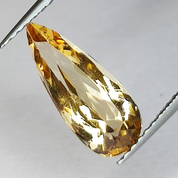2.27ct Imperial Topaz pear...