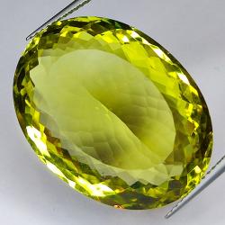 34.52ct Lemon Quartz oval...