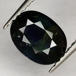 1.53ct Blue Sapphire oval...