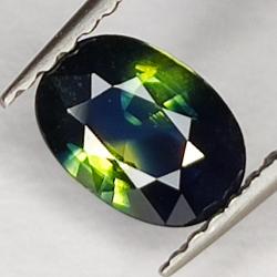 0.83ct Blue Sapphire oval...